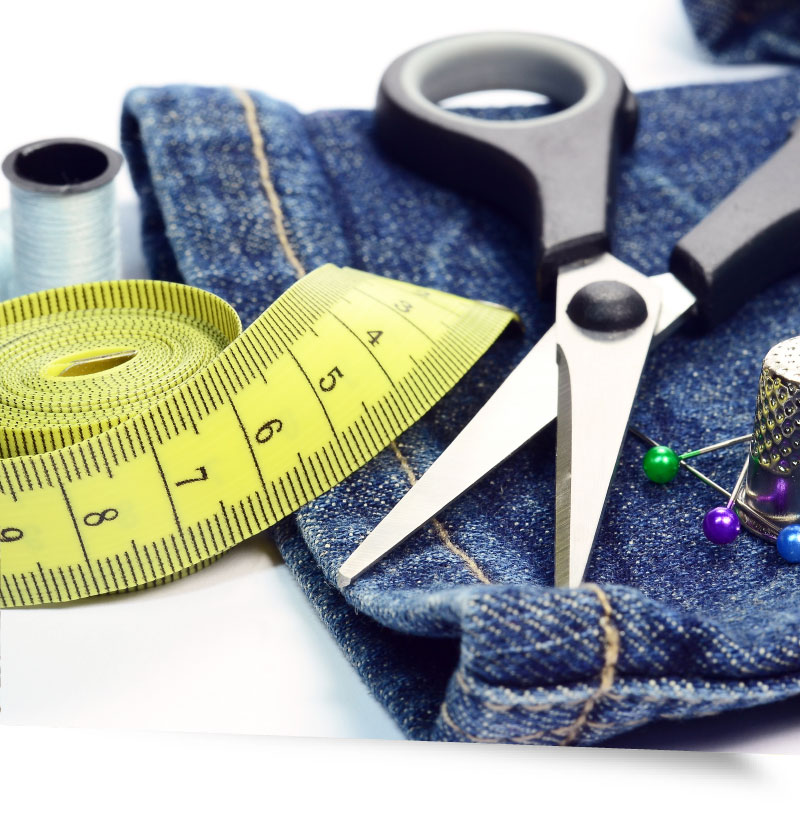 Clothes alteration contract work